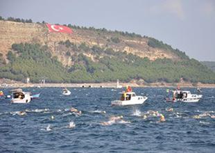 Çanakkale Açık Su Türkiye Yüzme Şampiyonası 25 Mayıs'ta