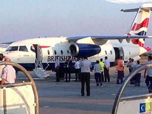 British Airways ilk kez KKTC Ercan'da