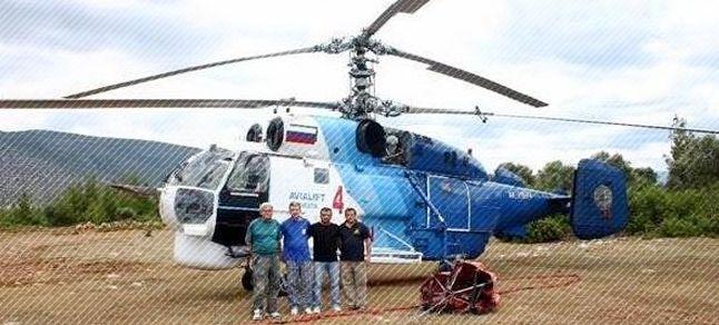 Yangın uçak ve helikopterleri göreve başladı