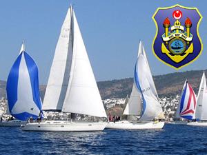 Deniz Harp Okulu Kupası Yat Yarışı'nı sadece 2 tekne tamamladı