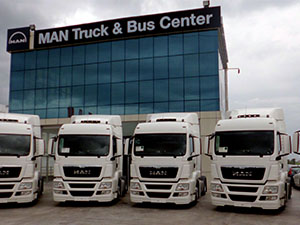 MAN'dan Dota Logistics'e 8 araçlık teslimat gerçekleştirildi