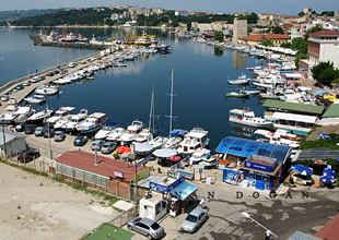 Sinop Limanı'nda gezi tekneleri denetlendi