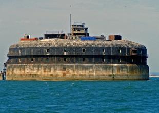 Deniz kalesi No Man's Land Fort, lüks otel oluyor