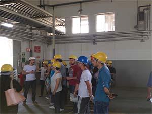 ÇOMÜ Deniz Bilimleri ve Teknolojisi Fakültesi'nden Kepez Limanı'na ziyaret