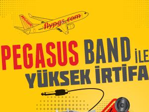 Pegasus Band, Dünya Kabin Memurları Günü'nde sahne alacak