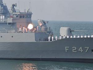 Türk donanması hedeflerde yüksek isabet tutturdu