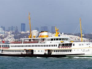 İstanbul'da Şehir Hatları vapur seferleri iptal edildi