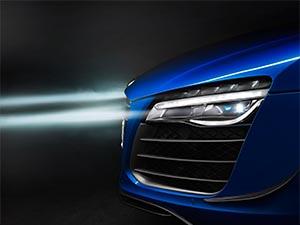 Audi'den lazer farlı ilk otomobil: R8 LMX