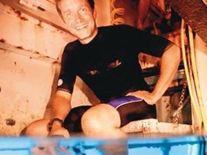 Fabien Cousteau 1 ay suyun altında kalacak