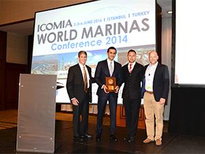 Çeşme Marina'ya 'Üstün Tasarım Ödülü' verildi