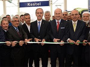 Bursa'da raylı sistemle günlük 1 milyon 350 bin kişi taşınacak