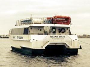 Ocean State isimli tekne Jamaika Körfezi'nde karaya oturdu
