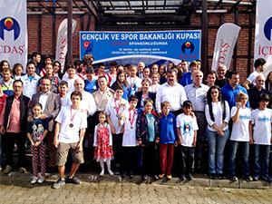"""""""Gençlik ve Spor Bakanlığı Kupası"""" yarışları tamamlandı"""