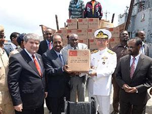 Barbaros Türk Deniz Görev Grubu Somali'ye ulaştı