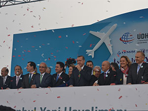 Üçüncü Havalimanı'nın temel atma töreni gerçekleştirildi
