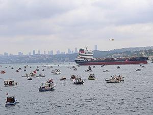 Türk Boğazları Günü'nde eylem