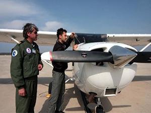 OMÜ'de ilk pilotlar uçuşa hazır