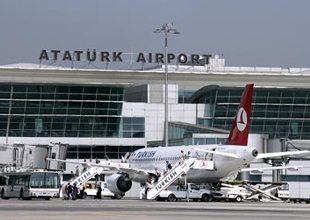 Atatürk Havalimanı'nda iniş kalkış rekoru