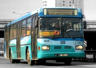 İstanbul'da halk otobüsçüleri 'zam' istiyor