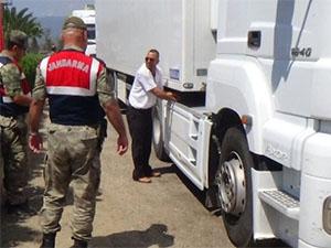 Hatay'da 400 araca 350 bin TL kaçak akaryakıt cezası