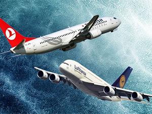 THY büyüyor Lufthansa küçülüyor