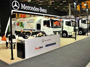 Mercedes-Benz, REW İstanbul'a kamyonları ile katıldı