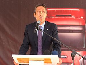 Yeni Ford Trucks bayisinin açılışını Ali Koç yaptı