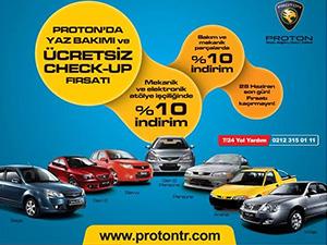 Proton'dan check-up ve servis kampanyası