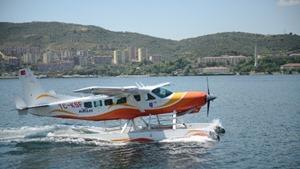 Airsea'den ilk uçuş