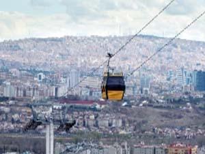 Yenimahalle-Şentepe Teleferiği 17 Haziran'da yolcu taşımaya başlıyor