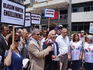Ankara'da ulaşıma yapılan zam protesto edildi