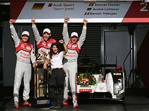Audi'den Le Mans'da zafer