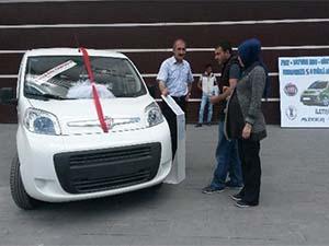 İndirimli araçlar Tatvan'da tanıtıma sunuldu