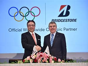 Bridgestone, IOC ile sözleşme imzaladı
