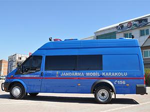 Otokoç'tan Jandarma Teşkilatı'na 20 araçlık teslimat