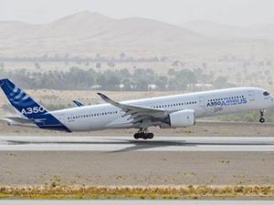 Airbus A350 XWB motorlarını sıcak havaya karşı test etti
