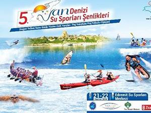 5. Van Denizi Su Sporları Şenlikleri başlıyor