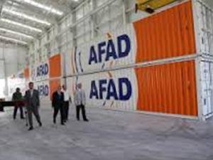 Aksaray'daki AFAD deposunun inşaatı tamamlandı