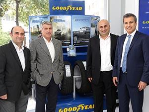 Yenilenen Goodyear bayisi Ekşili Otomotiv açıldı