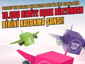 Pegasus'tan 10 bin kişiye hediye bilet