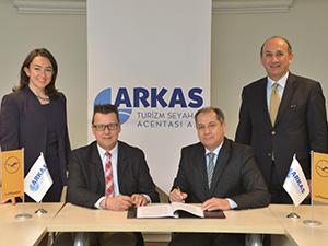 Arkas Turizm, 'Lufthansa City Center'in Türkiye'deki temsilcisi olacak