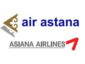 Air Astana ve Asiana Airlines işbirliği yapacak