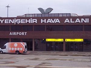Yenişehir Havalimanı'nın kargo binaları kiralanacak