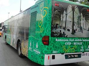 İETT'den Ramazan ayı boyunca 24 saat otobüs