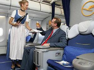 Alman yolcular gürültü konusunda daha çok endişeli