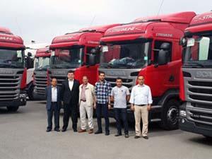 Scania bayisi Erçal'dan 4 firmaya 22 araçlık teslimat