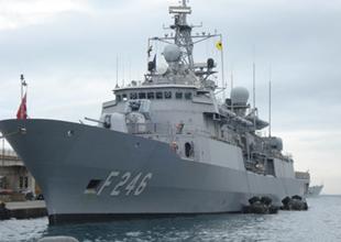 TCG Salih Reis gemisi, kimyasalları imha için yola çıktı