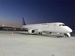 Borajet'in E-190'ları Türkiye'ye geldi