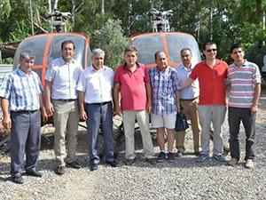 Dalaman Sivil Havacılık Yüksekokulu'na iki helikopter gönderildi