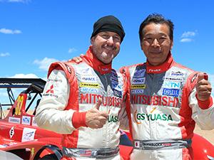 Mitsubishi, Pikes Peak'te birinci oldu